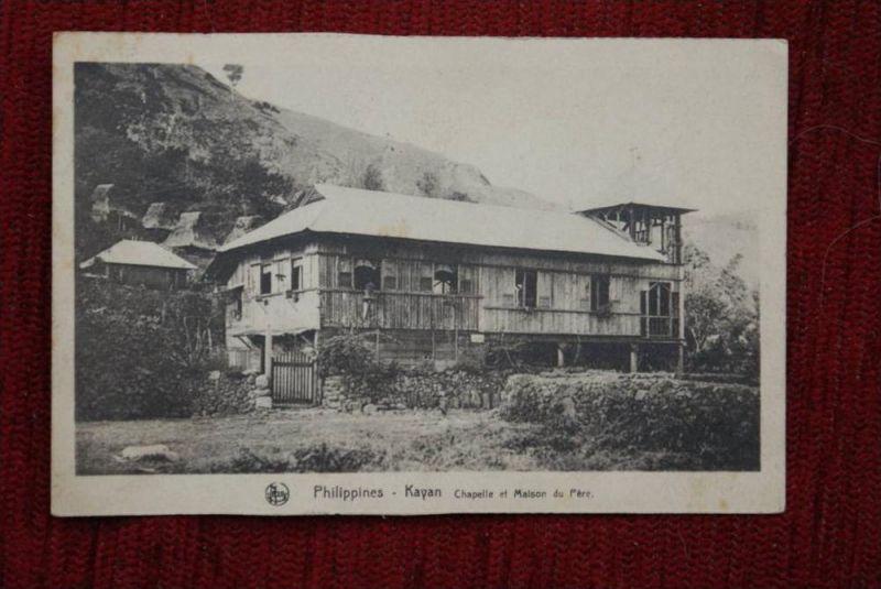 RP Philippinen, KAYAN, Mission, Chapelle et Maison du Parc