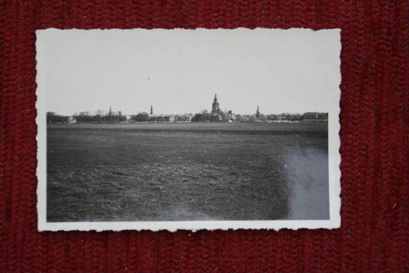 NL - GELDERLAND - ZUTPHEN, Photo 5,8 x 8,5 cm, Ortsansicht 1934
