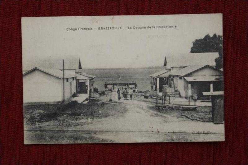 CONGO - BRAZZAVILLE, La Douane de la Briquetterie - Ziegelei