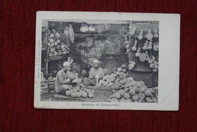 ET -ÄGYPTEN, Boutique de Gargoulettes,  - AF - , kl. Einrisse