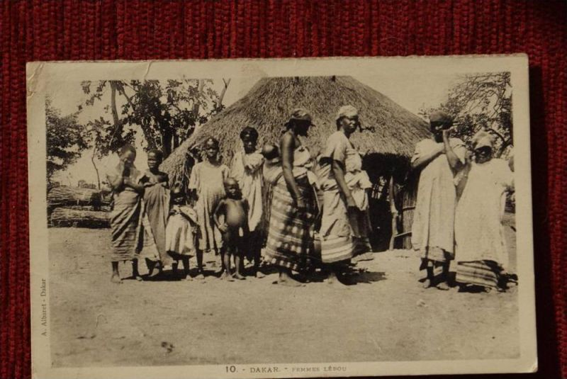 SENEGAL - DAKAR, Femmes Lebou, kl.Knick, petite coude - AF -