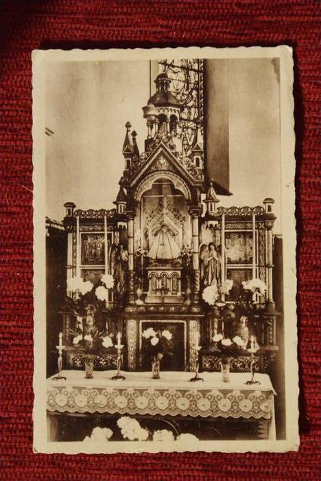 B 4850 BLEYBERG - MORESNET, Autel de Notre-Dame