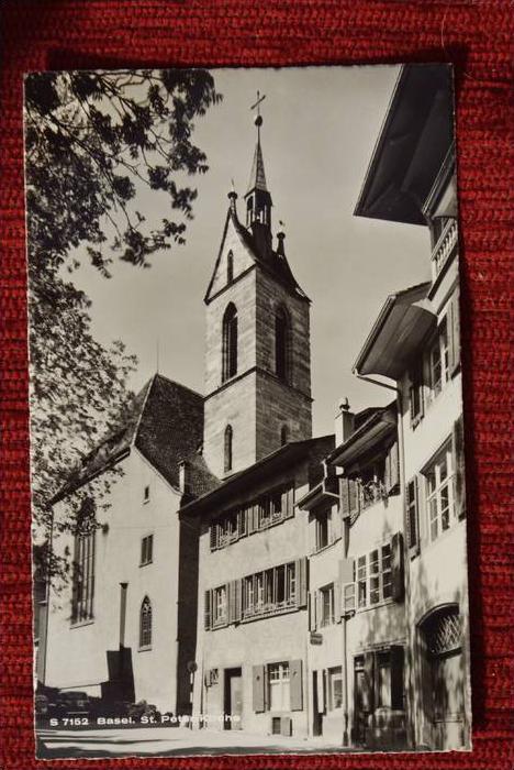 CH 4000 BASEL, St. Peter Kirche