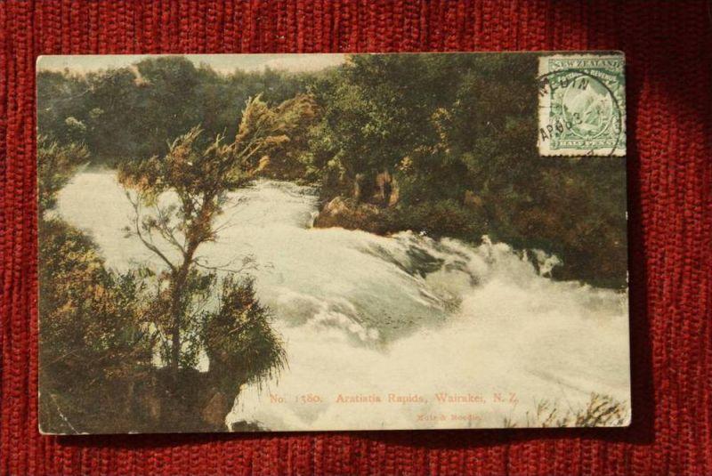 NZ - NEW ZEALAND / Neu Seeland - Wairakei -  Aratiatia Rapids