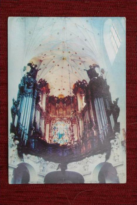 DANZIG - OLIVA - Kirchenorgel - Orgue de l'Eglise - Gdansk-Oliwa Polen