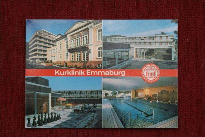 SPORT - SCHACH, Freiluftschach, open air chess - Bad Laasphe, Kurklinik Emmaburg