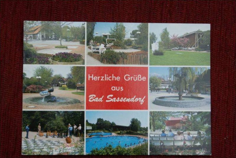 SPORT - SCHACH, Freiluftschach, open air chess - Bad Sassendorf