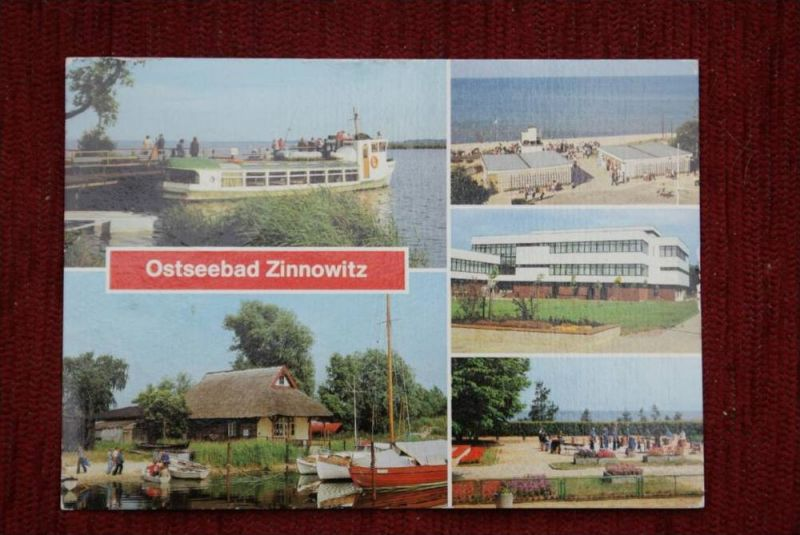 SPORT - SCHACH, Freiluftschach, open air chess - Ostseebad Zinnowitz