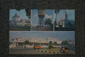 WASSERTURM - water tower, chateau d'eau, watertoren, Indonesien - Sumatra - Medan