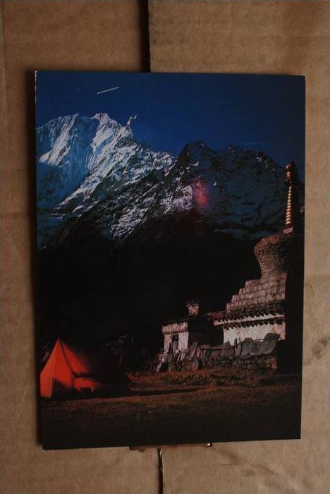 NEP NEPAL - Thanserku - Bergsteigen - climbing
