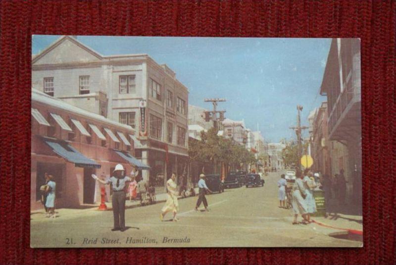 POLIZEI - Bermuda - Reid Street, Hamilton