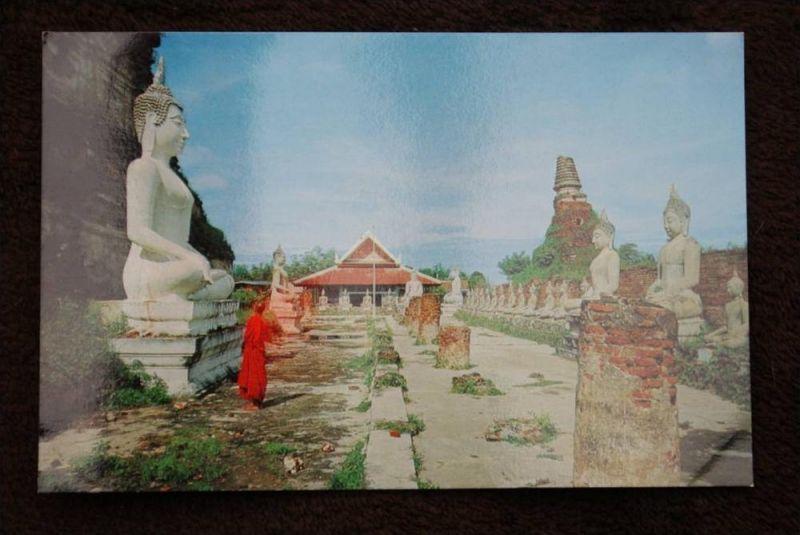 THAILAND - SIAM, Ayudhya, Wat Yai Chai Mongkol