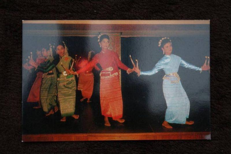 THAILAND - SIAM, Candle dance, Thai classical dance