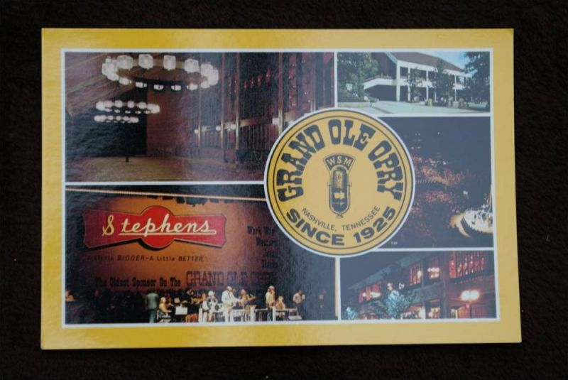 MUSIK - COUNTRY - Grand Ole Opry - Nashville - Tennessee