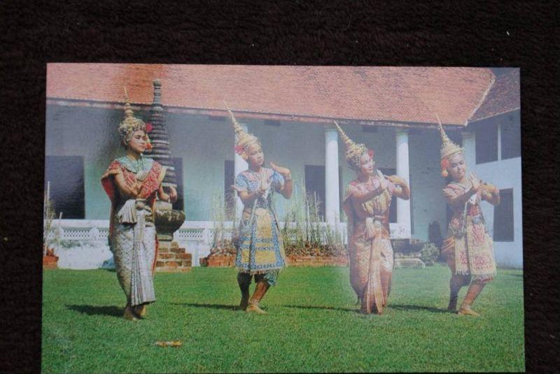 THAILAND - SIAM, Lakorn, Bangkok, Mae Bot Dan'ce of Thai Dance