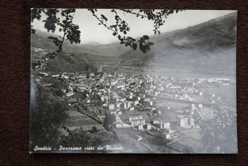 I 23100 SONDRIO, Panorama vista da Ponente