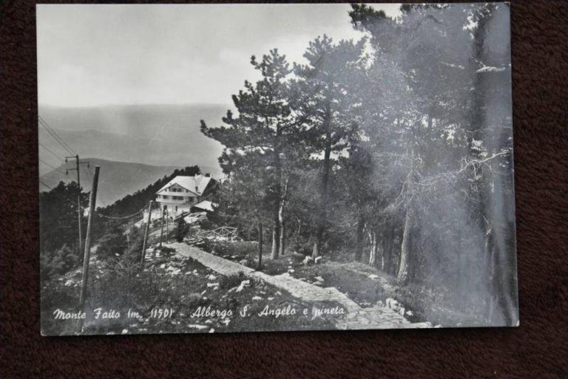 I 80053 CASTELLAMMARE DI STABIA - Mont Faito, Albergo S.Angelo