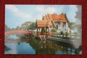 THAILAND - SIAM, Bangkok, Wad Benjamabopit