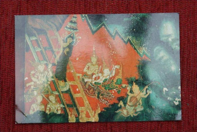 THAILAND - SIAM, Bangkok, National Museum, Mural Paintings