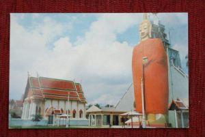 THAILAND - SIAM, Bangkok, Wad Intornivham, The Standing Buddha