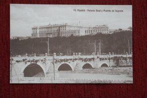 E 28001 MADRID, Palacio Real y Puente de Segovia