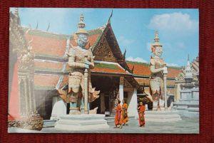 THAILAND - SIAM, Bangkok, Wai Phra Keo, Emerald Buddha Temple
