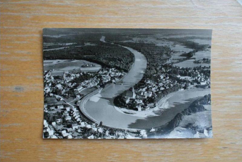 A 5110 OBERNDORF a.d. Salzach,Salzburgerland,  Salzachbrücke - Grenze zu Laufen/Bayern