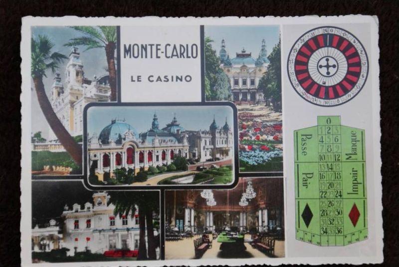 MC - Monaco, MONTE - CARLO, Le Casino - Roulette