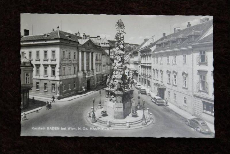 A 2500 BADEN bei Wien, Hauptplatz