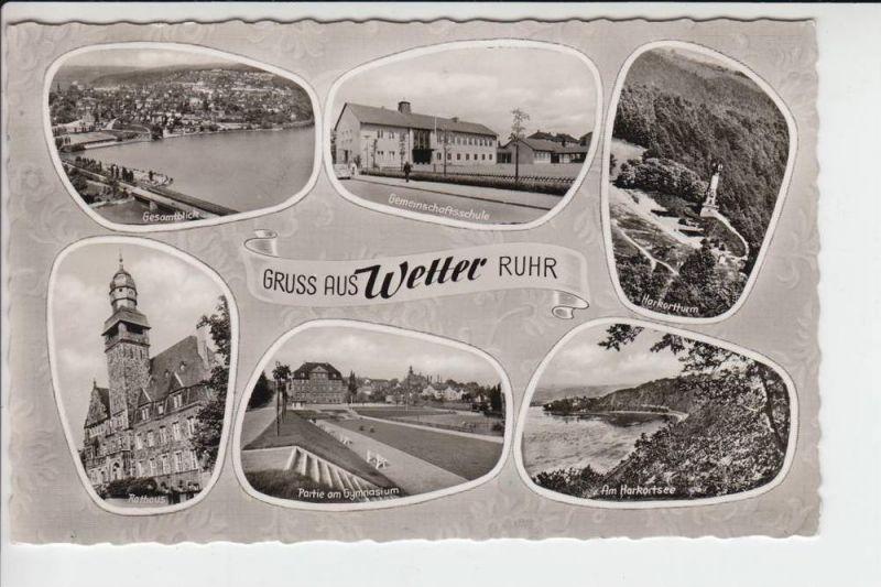 5802 WETTER / Ruhr, Mehrbildkarte 1962