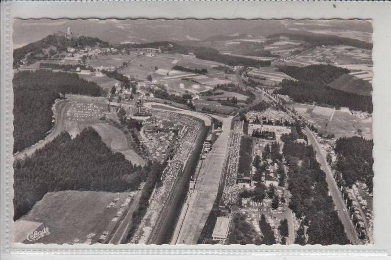 AUTO - RENNEN - Nürburgring Luftaufnahme 1959