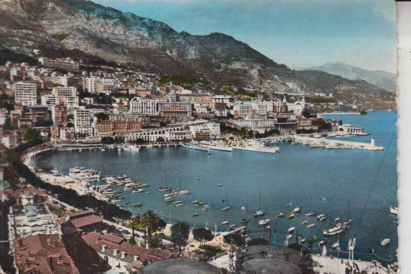 MC - MONACO, Le Port 1958