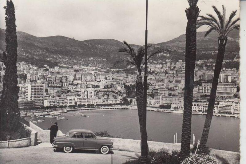 MC - MONACO, Le port, les quais et Monte-Carlo