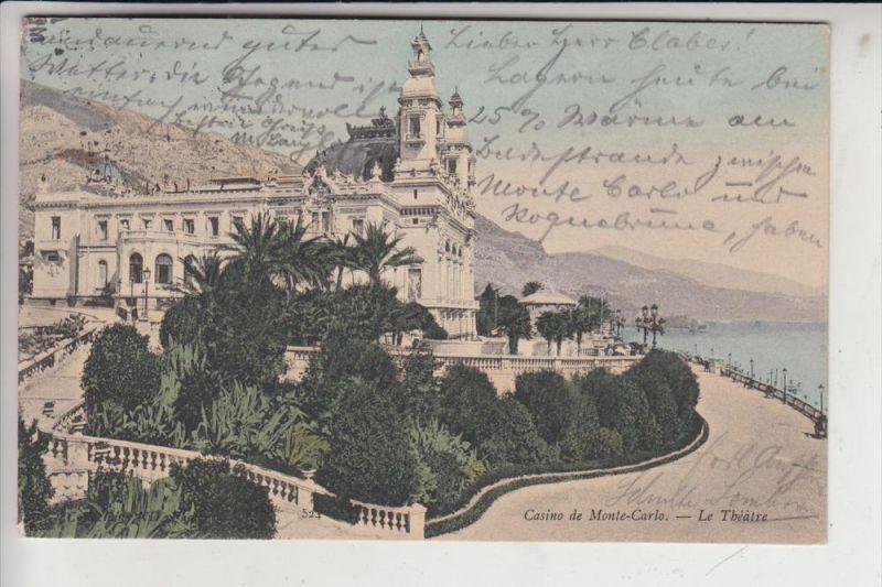 MC - MONACO, Casino - Le Theatre 1905