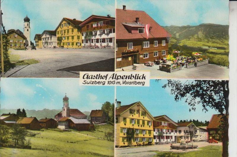 A 6934 SULZBERG, Gasthof Alpenblick
