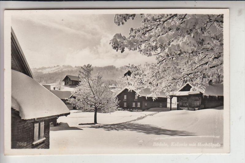 A 6867 SCHWARZENBERG, Bödele, Kolonie, 1944
