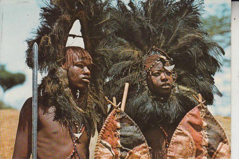 VÖLKERKUNDE - ETHNIC - KENIA, Masai Krieger