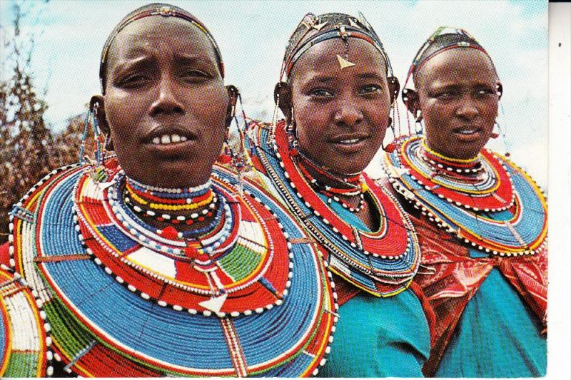 VÖLKERKUNDE - ETHNIC - Kenia, Masai Women