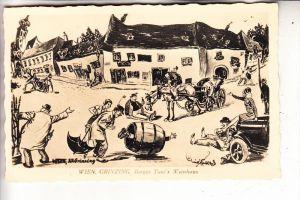 A 1000 WIEN - GRINZING, Berger Toni's Weinhaus, Humor