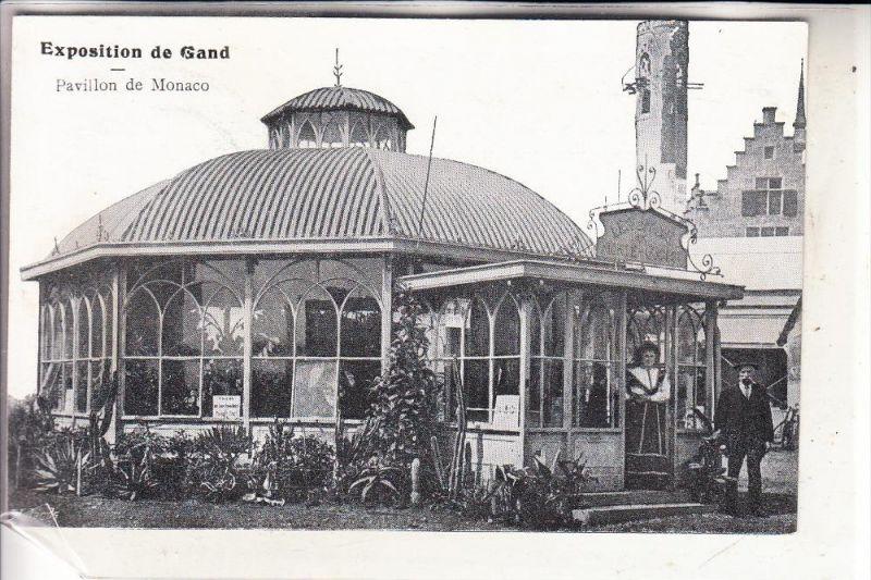 MONACO - Pavilon Expo Gand 1913
