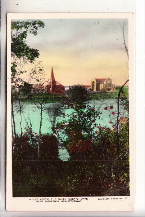 CANADA - SASKATOON / Saskatchewan, View across river, 1931