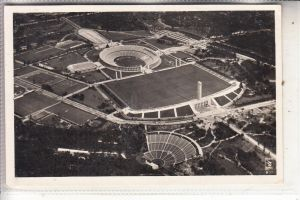 SPORT - OLYMPIA 1936 BERLIN, Reichssportfeld, Luftaufnahme