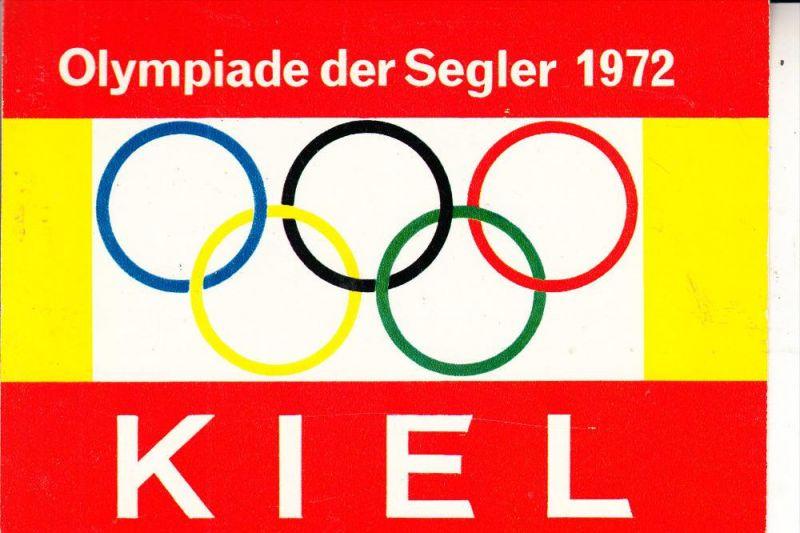 SPORT - OLYMPIA 1972 KIEL, Segeln