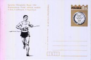 OLYMPIA - ROMA 1960, GA Polen