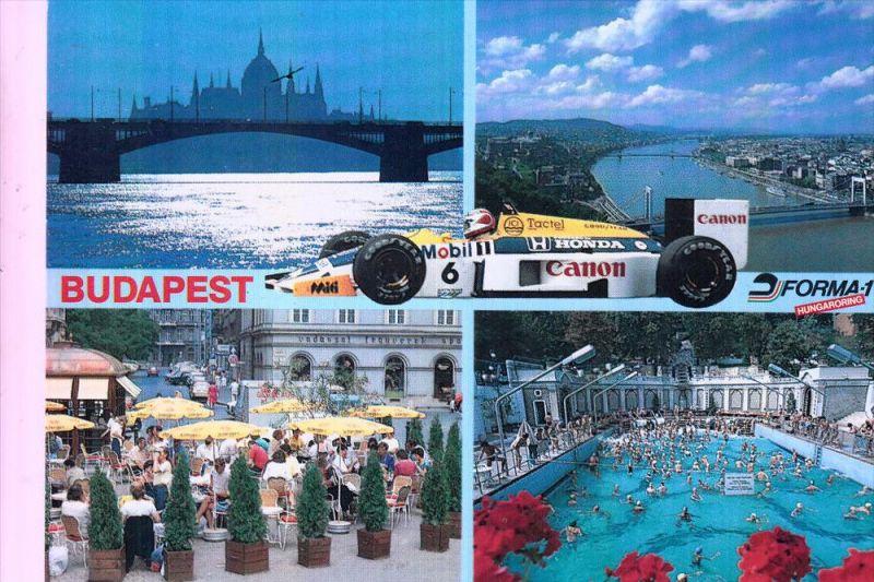 RENNSPORT - RACING - Formula 1, Budapest