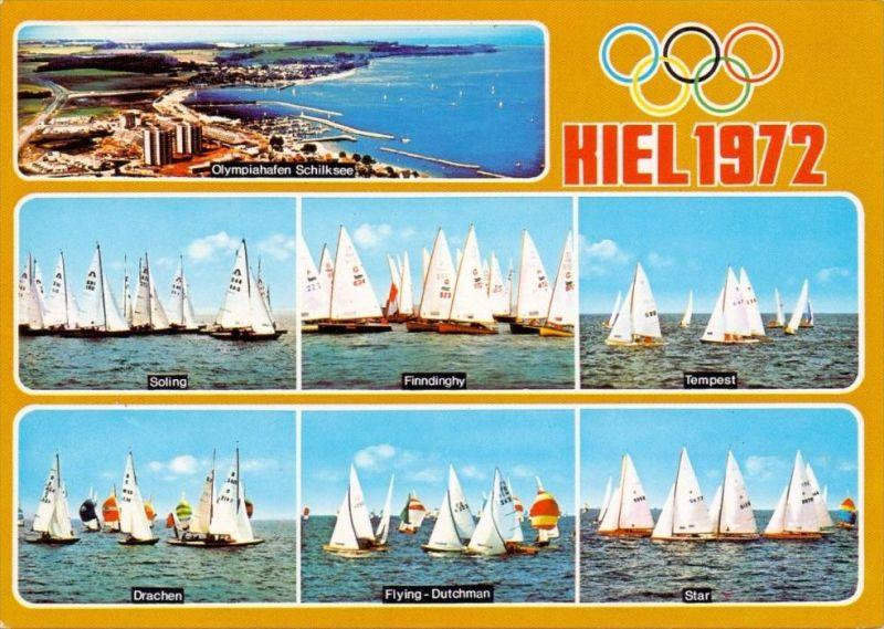 OLYMPIA 1972 - KIEL, 2 AK