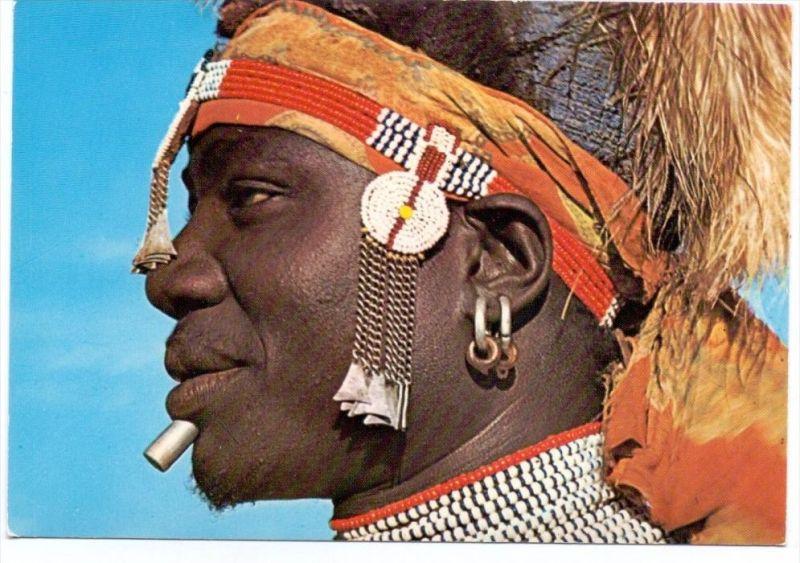 KENYA / KENIA - SUK DANCER, ethnic / Völkerkunde