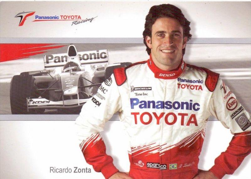 RENNSPORT / RACING - F1 - RICARDO ZONTA / TOYOTA