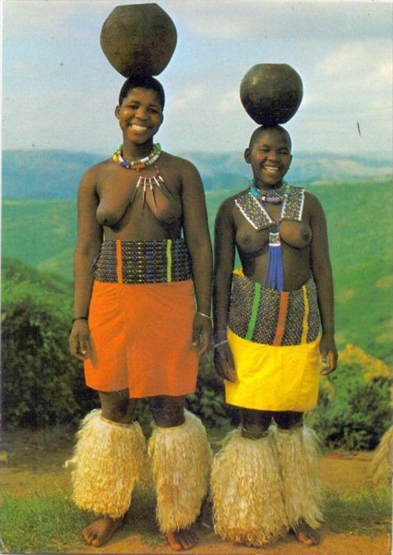 VÖLKERKUNDE / Ethnic - NATAL, Zulu Maidens