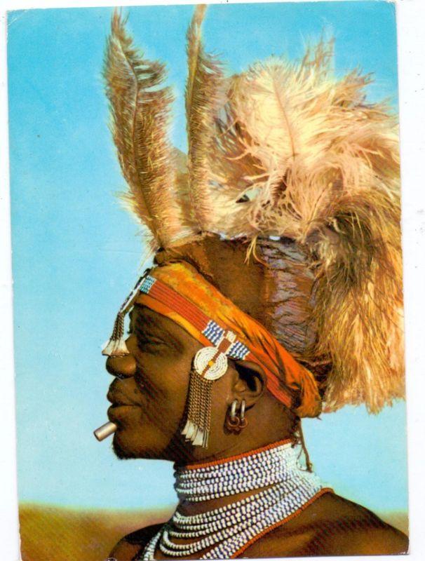 VÖLKERKUNDE / Ethnic - UGANDA, Suk Dancer